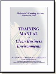 training manual cover page